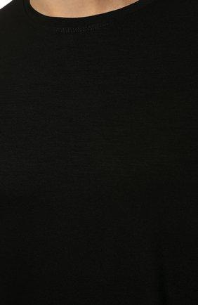 Мужская футболка DEREK ROSE черного цвета, арт. 3048-BASE001   Фото 5 (Кросс-КТ: домашняя одежда; Рукава: Короткие; Материал внешний: Синтетический материал; Длина (для топов): Стандартные; Мужское Кросс-КТ: Футболка-белье; Статус проверки: Проверено, Проверена категория)