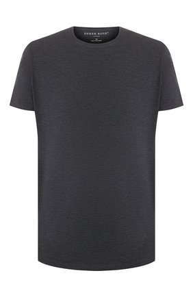 Мужские футболка DEREK ROSE темно-серого цвета, арт. 3048-MARL001 | Фото 1