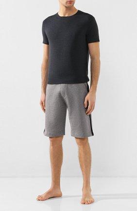 Мужские футболка DEREK ROSE темно-серого цвета, арт. 3048-MARL001 | Фото 2
