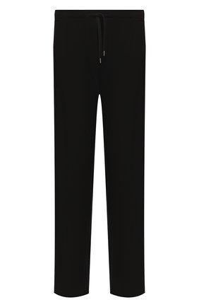 Мужские домашние брюки DEREK ROSE черного цвета, арт. 3558-BASE001 | Фото 1