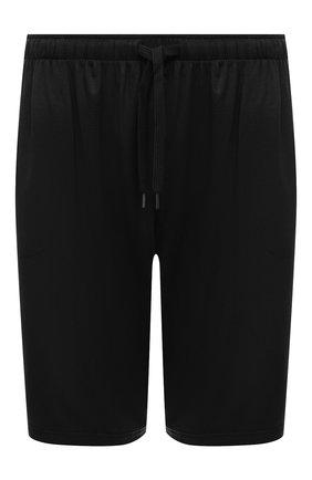 Мужские домашние шорты DEREK ROSE черного цвета, арт. 3559-BASE001 | Фото 1