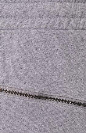 Мужские хлопковые джоггеры DEREK ROSE серого цвета, арт. 9250-DEV0001   Фото 5 (Мужское Кросс-КТ: Брюки-трикотаж; Длина (брюки, джинсы): Стандартные; Материал внешний: Хлопок; Силуэт М (брюки): Джоггеры)