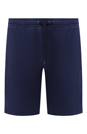 Мужские хлопковые шорты DEREK ROSE темно-синего цвета, арт. 9300-DEV0001 | Фото 1