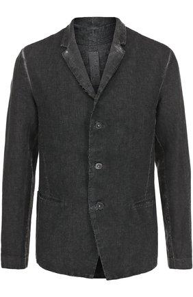 Льняной однобортный пиджак