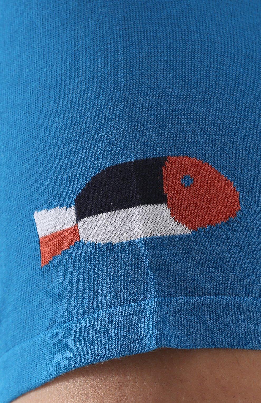 Хлопковый джемпер с короткими рукавами | Фото №5