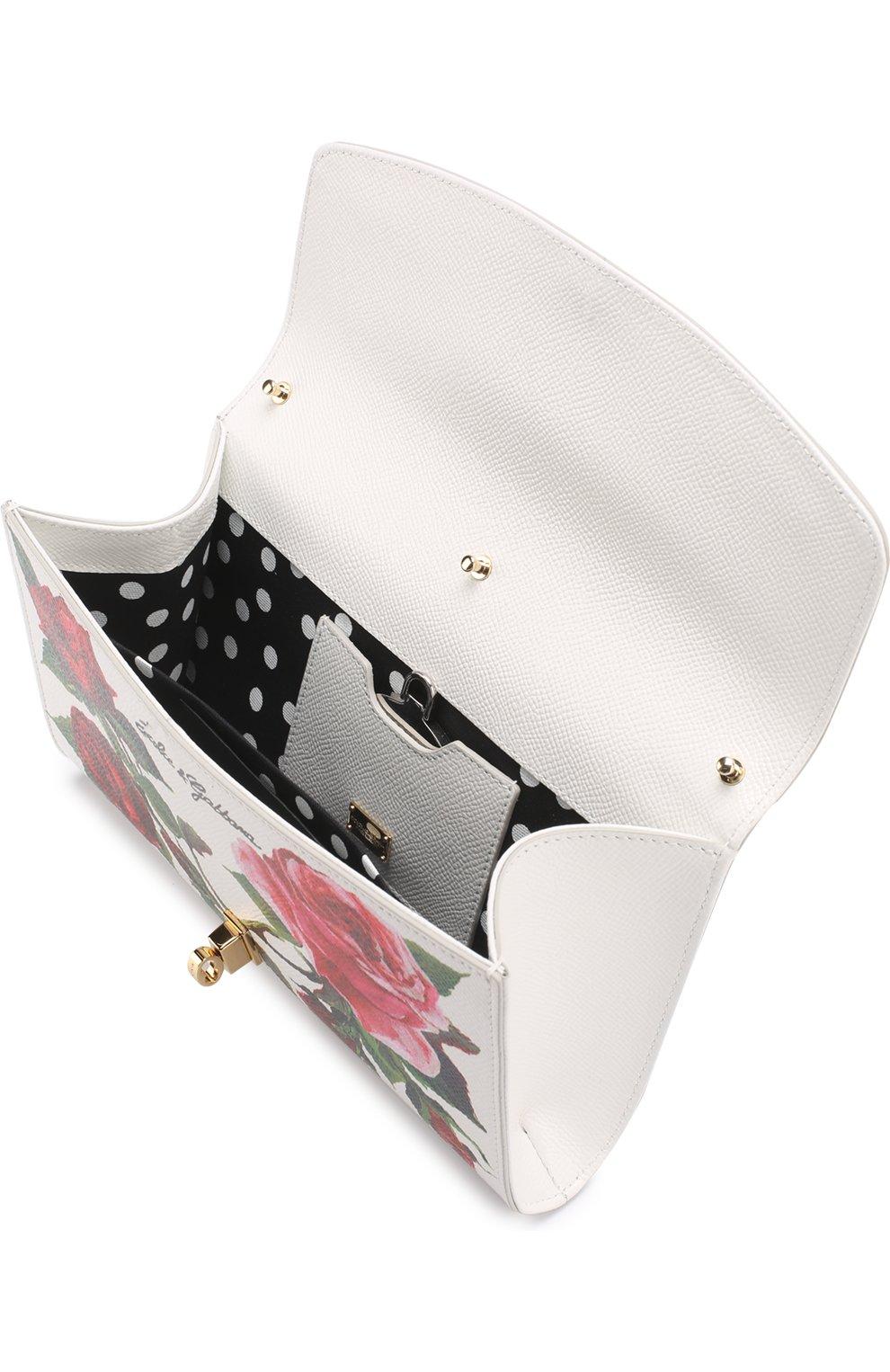 Сумка Dolce Pochette с принтом Dolce & Gabbana разноцветного цвета   Фото №3