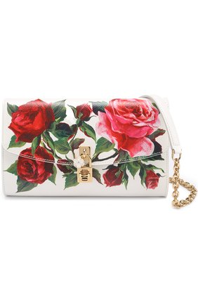Сумка Dolce Pochette с принтом Dolce & Gabbana разноцветного цвета   Фото №4