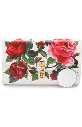 Сумка Dolce Pochette с принтом Dolce & Gabbana разноцветного цвета   Фото №5