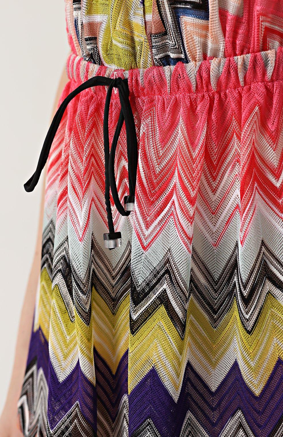Мини-комбинезон с ярким принтом Missoni разноцветный   Фото №5