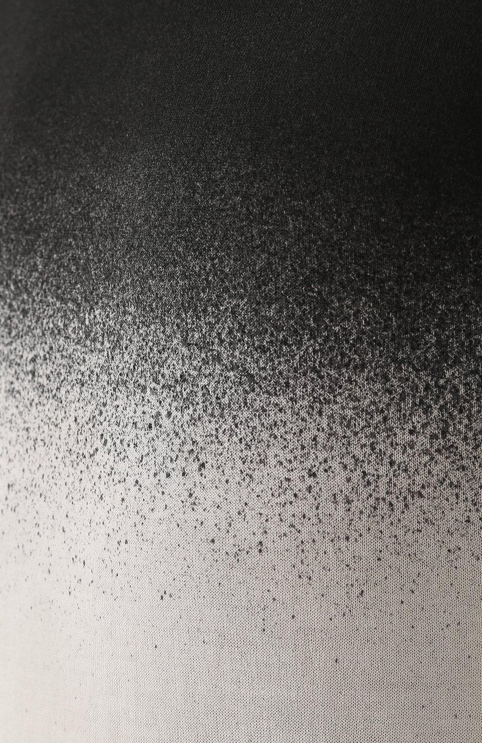 Хлопковый джемпер тонкой вязки с эффектом деграде | Фото №5