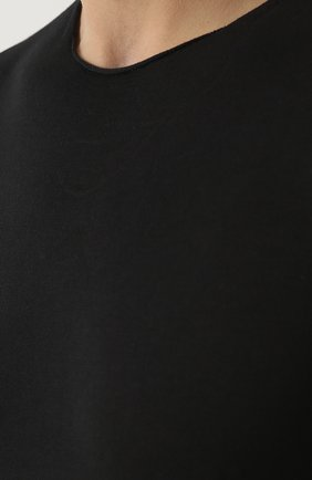 Хлопковый джемпер тонкой вязки   Фото №5