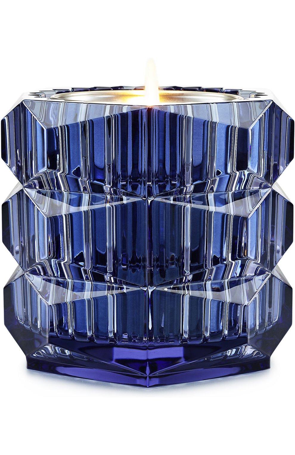 Мужского подсвечник eclat de nuit с ароматической свечой BACCARAT синего цвета, арт. 2 810 942 | Фото 1
