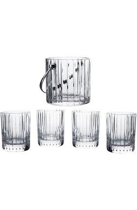 Набор из ведра для льда и 4-х стаканов для виски Harmonie | Фото №1