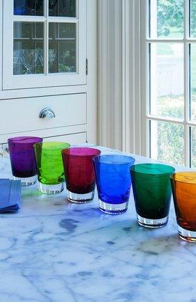 Мужского набор из 2-х стаканов для сока mosaique BACCARAT зеленого цвета, арт. 2 811 182 | Фото 2
