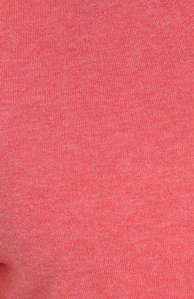 Хлопковый пуловер тонкой вязки | Фото №5