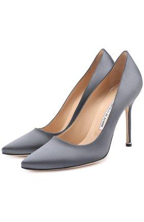 Атласные туфли Vetements X Manolo Blahnik | Фото №1