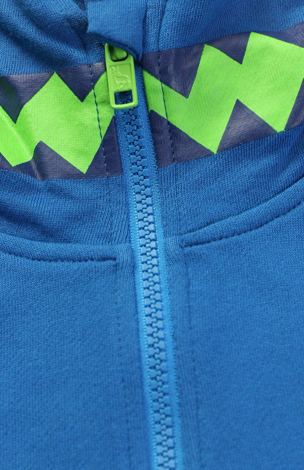 Спортивный кардиган с декорированным капюшоном | Фото №3