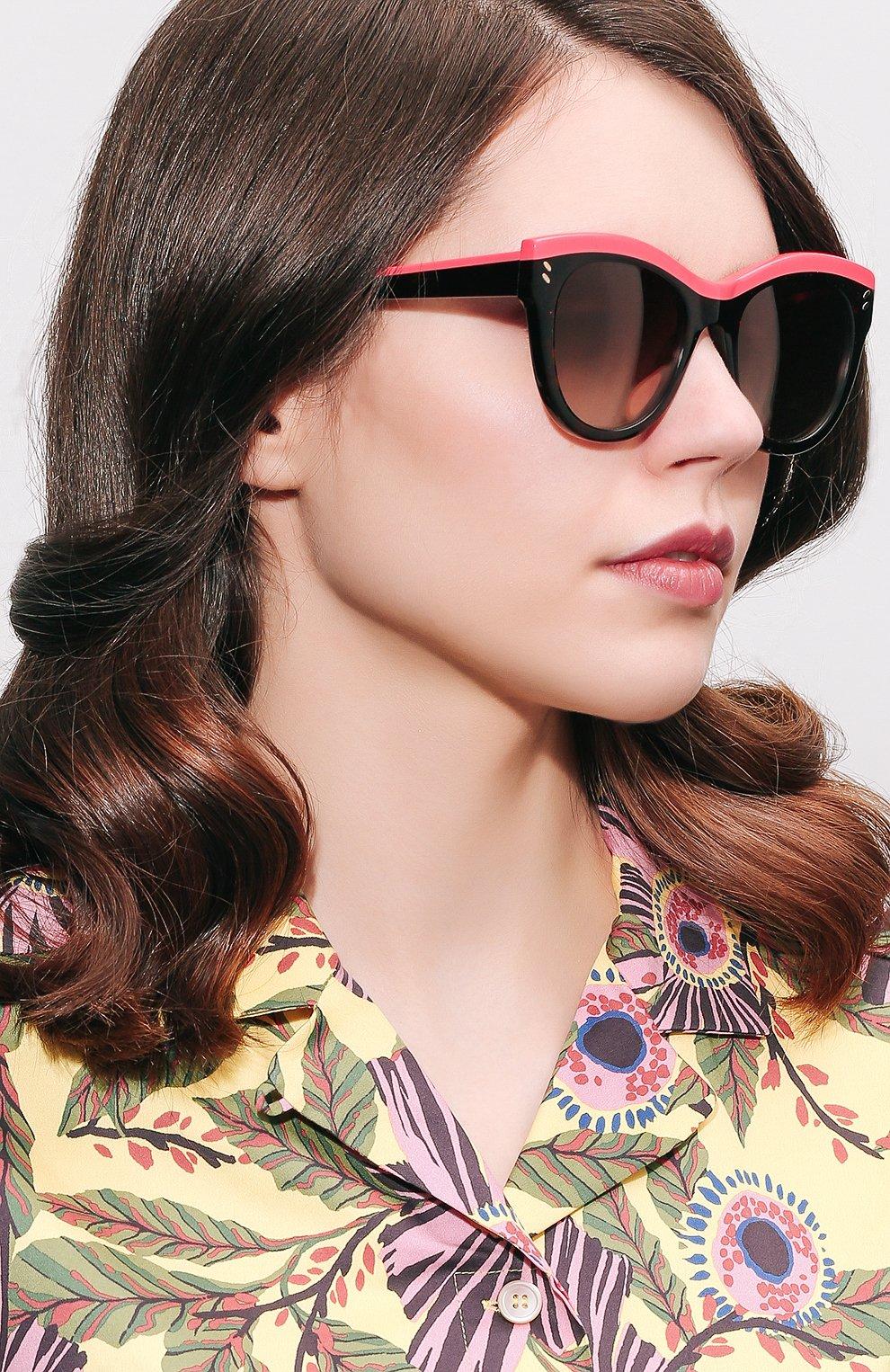 Женские солнцезащитные очки STELLA MCCARTNEY розового цвета, арт. 0021 003 | Фото 2
