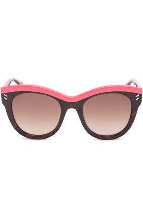 Женские солнцезащитные очки STELLA MCCARTNEY розового цвета, арт. 0021 003 | Фото 3