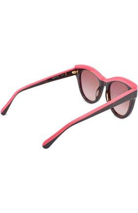 Женские солнцезащитные очки STELLA MCCARTNEY розового цвета, арт. 0021 003 | Фото 4