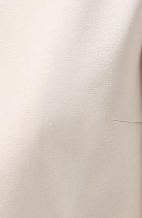 Укороченный жакет прямого кроя | Фото №5