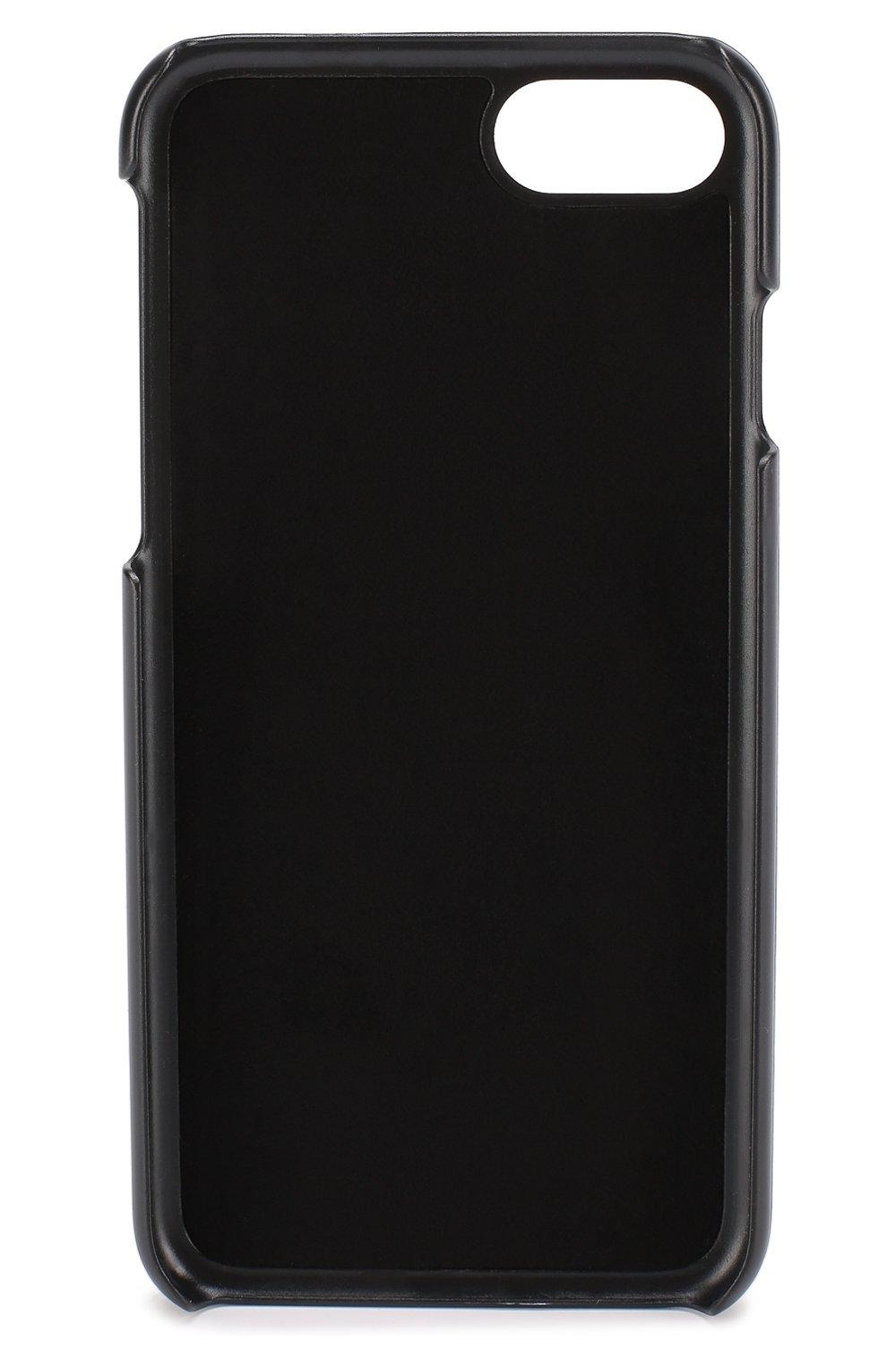 Кожаный чехол для iPhone 7 Dolce & Gabbana    Фото №2