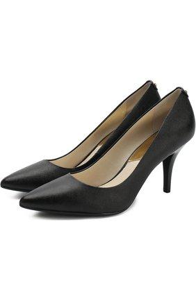 Кожаные туфли Flex на шпильке | Фото №1