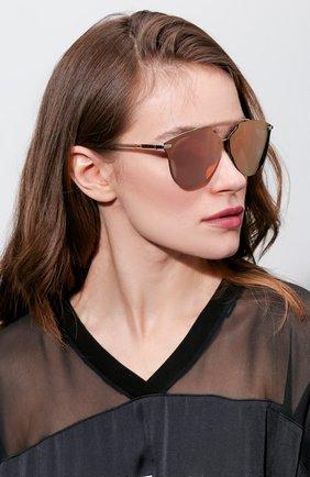 Женские солнцезащитные очки DIOR золотого цвета, арт. DI0RREFLECTEDP S5Z | Фото 2