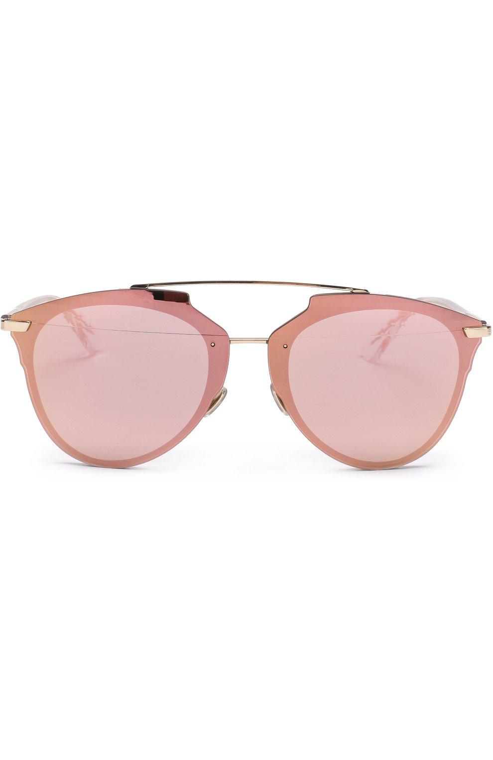 Женские солнцезащитные очки DIOR золотого цвета, арт. DI0RREFLECTEDP S5Z | Фото 3
