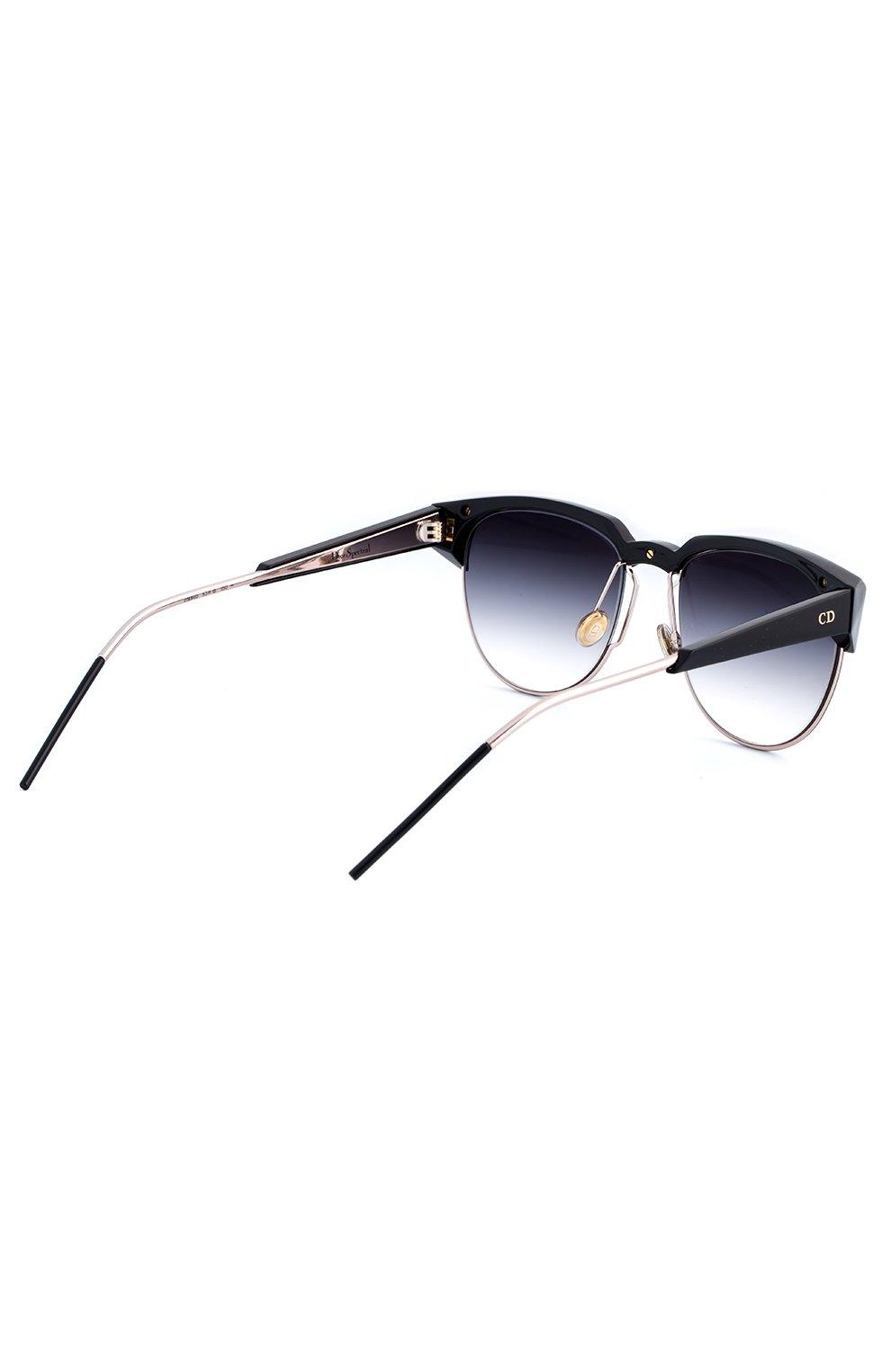 Женские солнцезащитные очки DIOR черного цвета, арт. DI0RSPECTRAL 01M | Фото 3