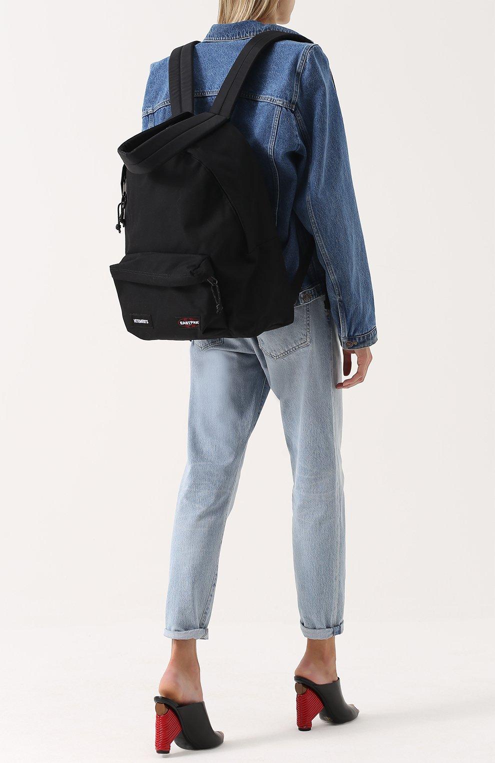 Текстильный рюкзак Vetements X Eastpack | Фото №2
