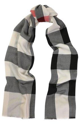 Кашемировый шарф в клетку | Фото №1