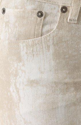Женские джинсы-скинни с потертостями RALPH LAUREN белого цвета, арт. 930/XZDHN/XYDHN | Фото 5