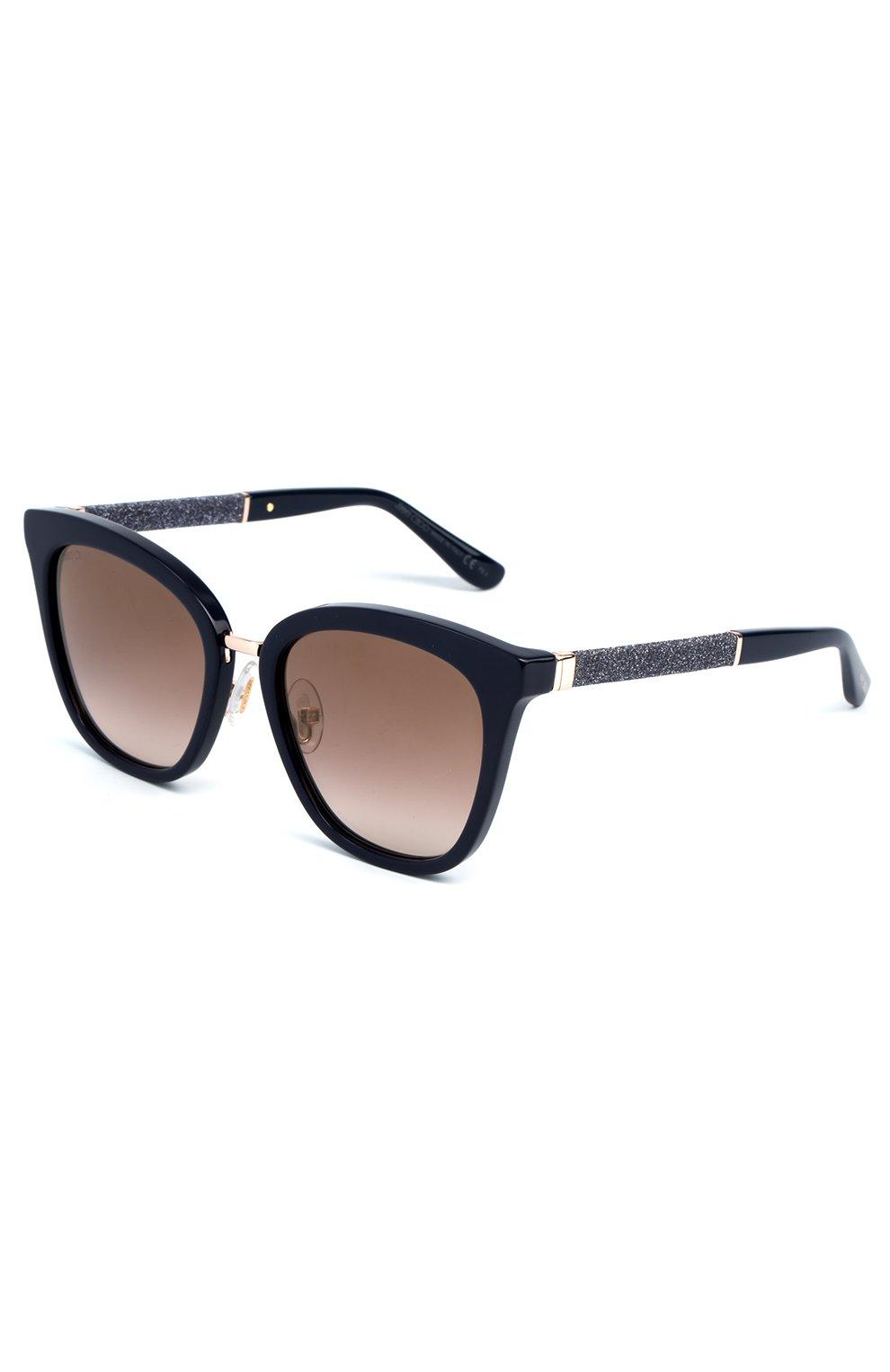 Женские солнцезащитные очки JIMMY CHOO темно-синего цвета, арт. FABRY KCA | Фото 1