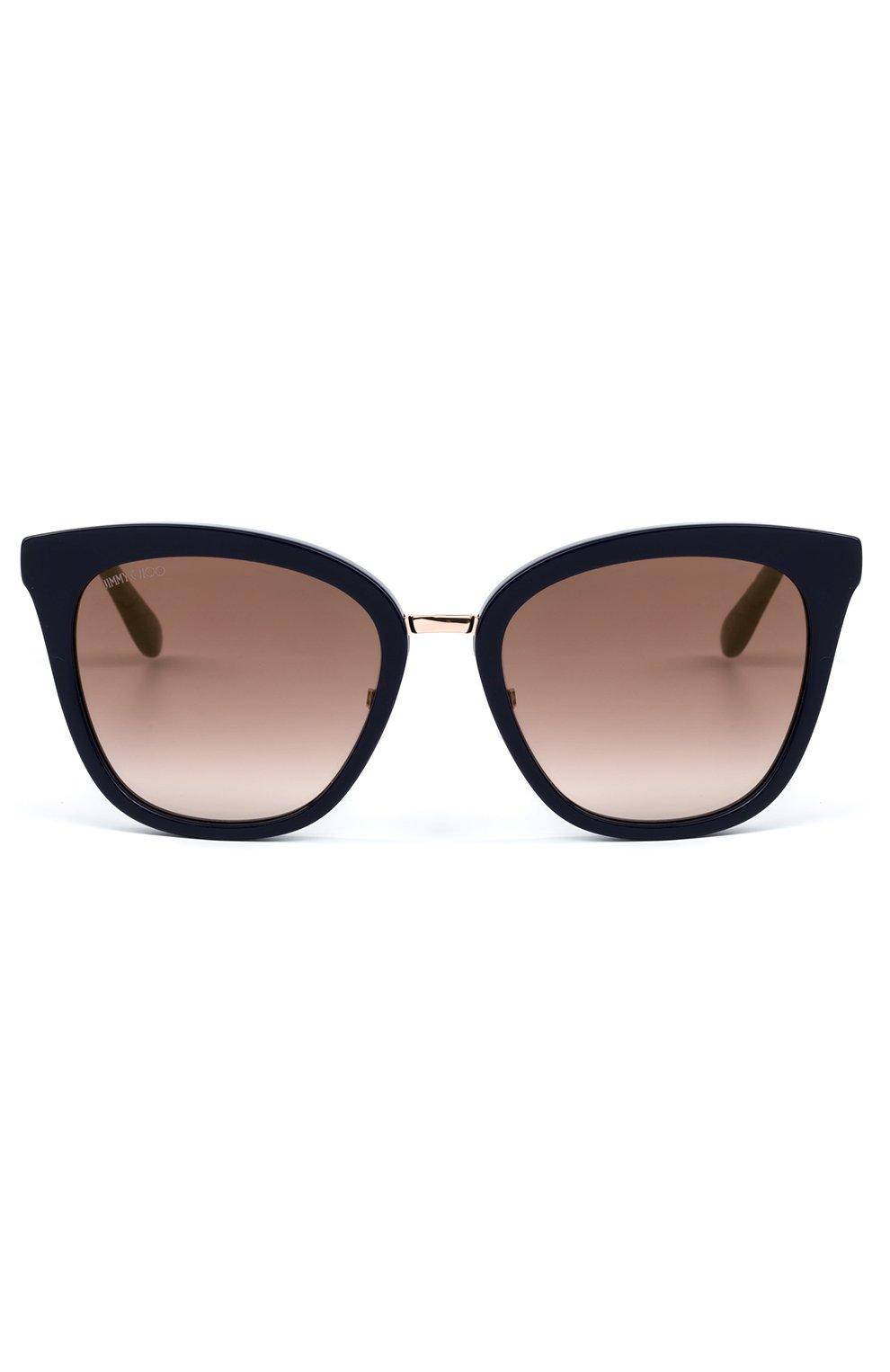Женские солнцезащитные очки JIMMY CHOO темно-синего цвета, арт. FABRY KCA | Фото 2