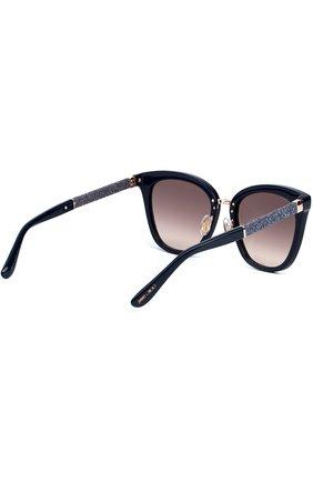 Женские солнцезащитные очки JIMMY CHOO темно-синего цвета, арт. FABRY KCA | Фото 3