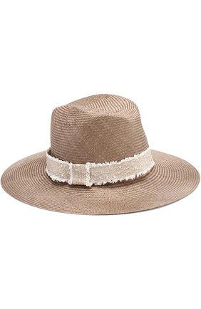 Соломенная шляпа в повязкой | Фото №1