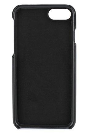 Мужской кожаный чехол для iphone 7 DOLCE & GABBANA темно-зеленого цвета, арт. 0115/BP2235/A1001 | Фото 2
