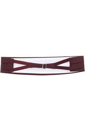 Мужской шелковый камербанд CANALI бордового цвета, арт. HJ01047/15 | Фото 2