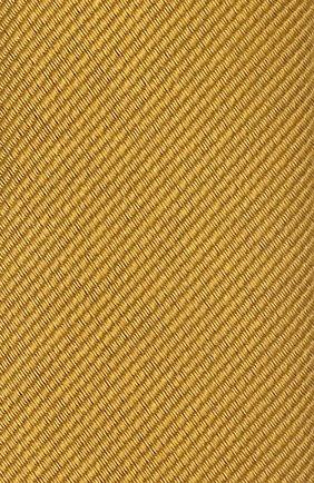 Шелковый галстук Dolce & Gabbana желтого цвета   Фото №3