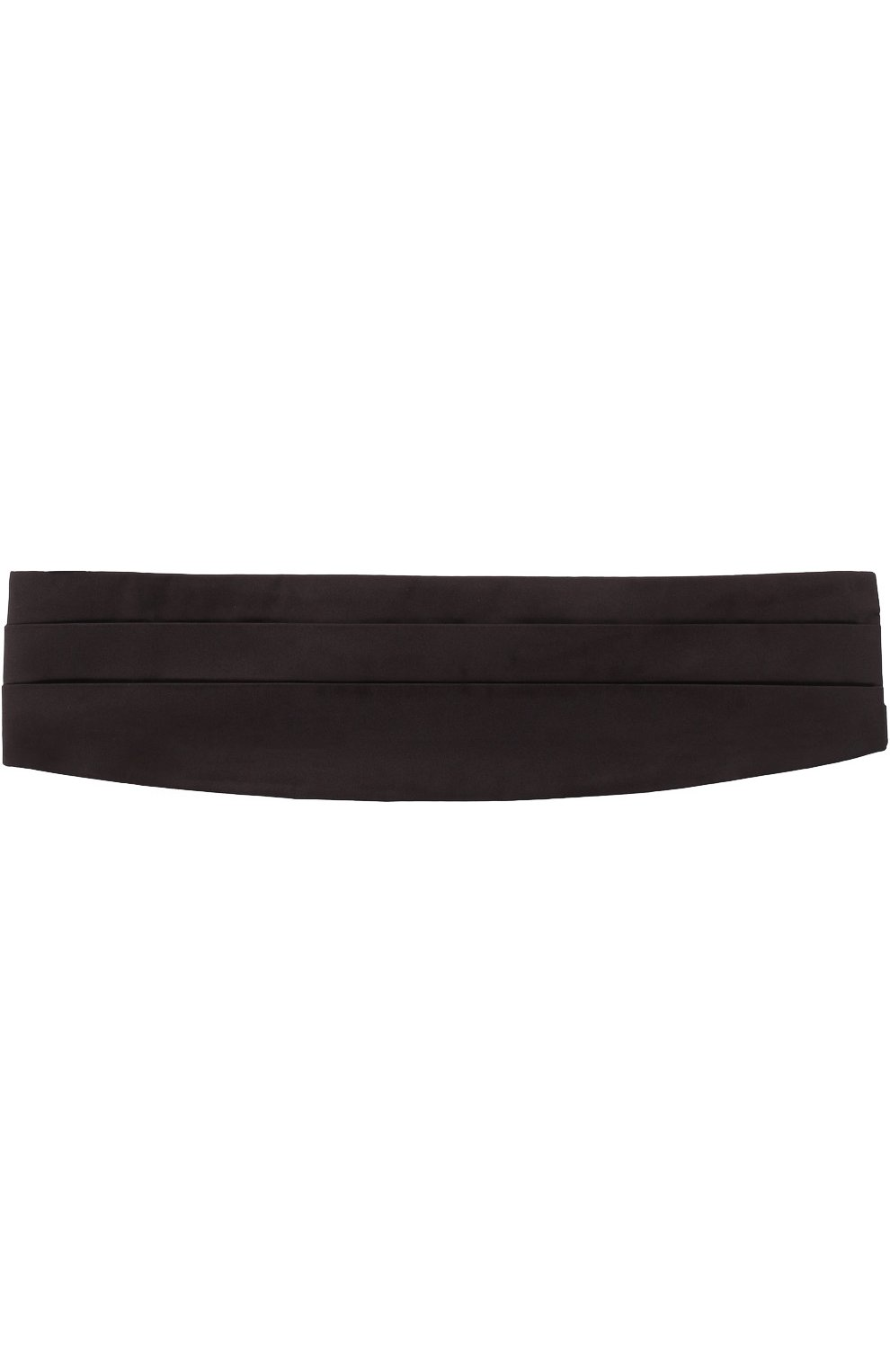 Мужской шелковый камербанд GIORGIO ARMANI черного цвета, арт. 360033/7P998 | Фото 1