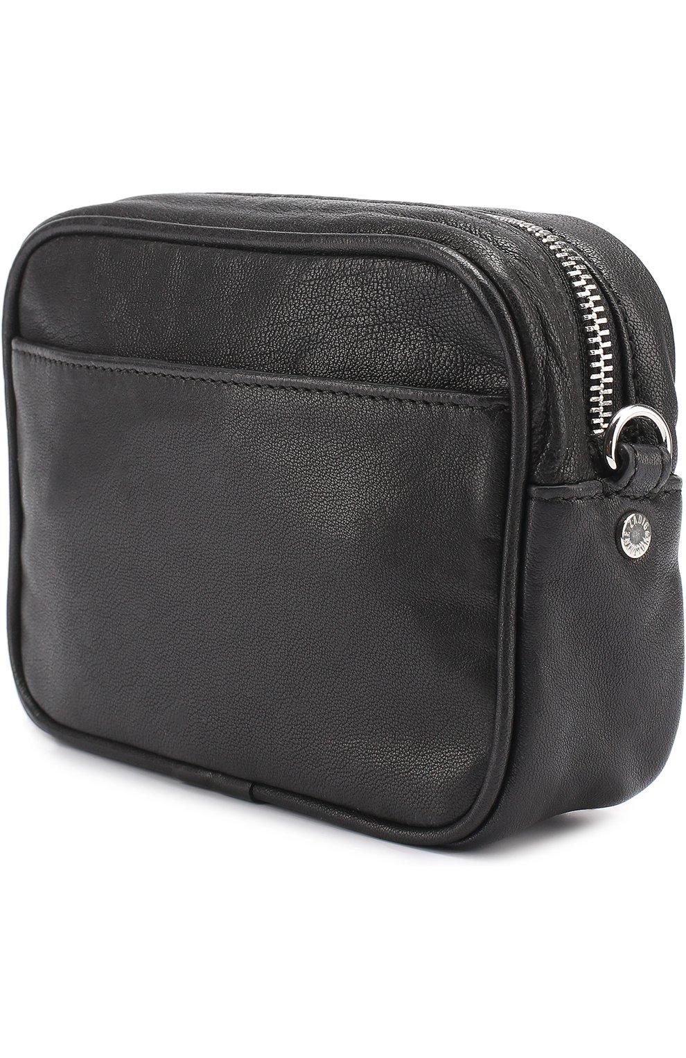 Женская сумка xs boxy boho с заклепками ZADIG VOLTAIRE черная цвета ... 2d3b48c1d7406