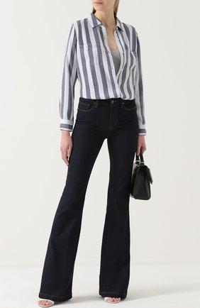 Женская блуза в полоску с накладными карманами Rails, цвет разноцветный, арт. CARTER/622-027 в ЦУМ   Фото №1