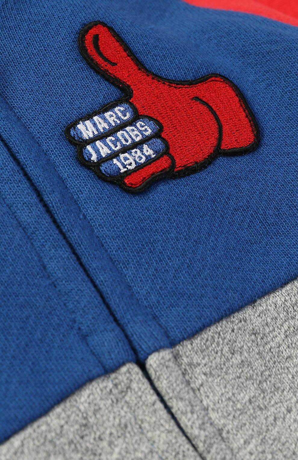 Спортивный кардиган из хлопка с нашивкой | Фото №3