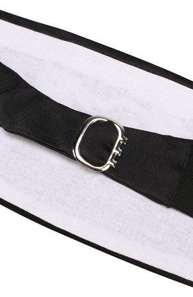 Мужской шелковый камербанд CANALI черного цвета, арт. HJ00040/15 | Фото 3