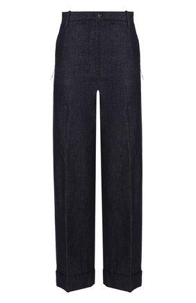 Укороченные джинсы со стрелками Nine in the morning синие | Фото №1