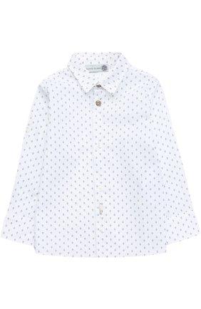 Хлопковая рубашка с принтом | Фото №1