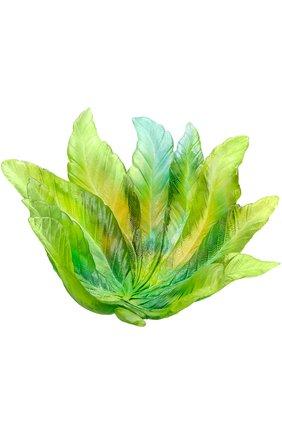 Мужского ваза для фруктов borneo DAUM зеленого цвета, арт. 05521 | Фото 1