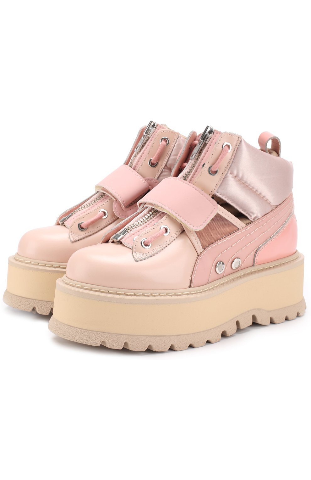 0f7e936d8c07 Женские розовые ботинки на платформе fenty x puma by rihanna FENTY ...