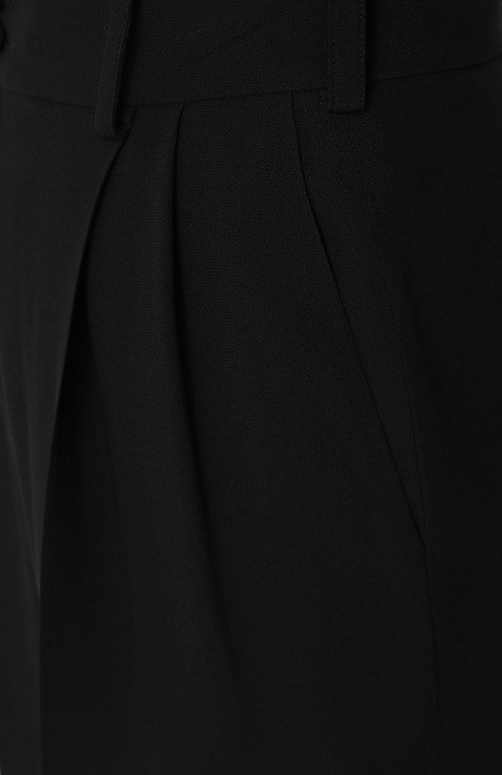 Укороченные брюки с завышенной талией | Фото №5